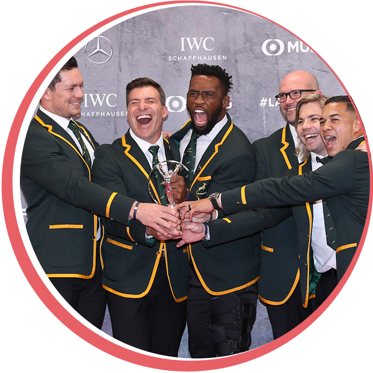 Laureus Supporters Club - Monthly Subscription Springboks Awards